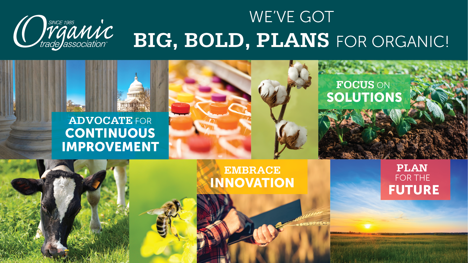 Bold Steps to Advance Organic from Organic Trade Association