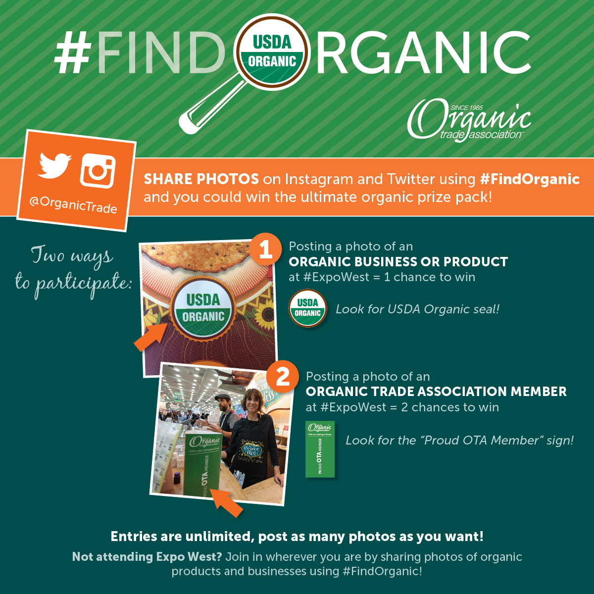 #FindOrganic and Expo West