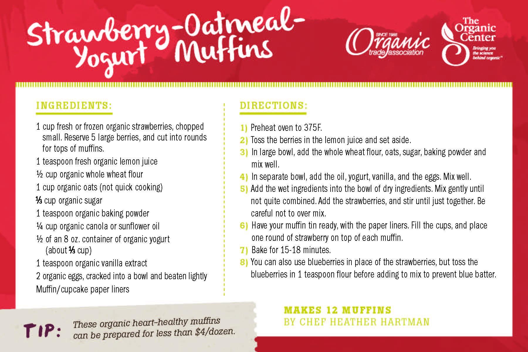 organic muffins