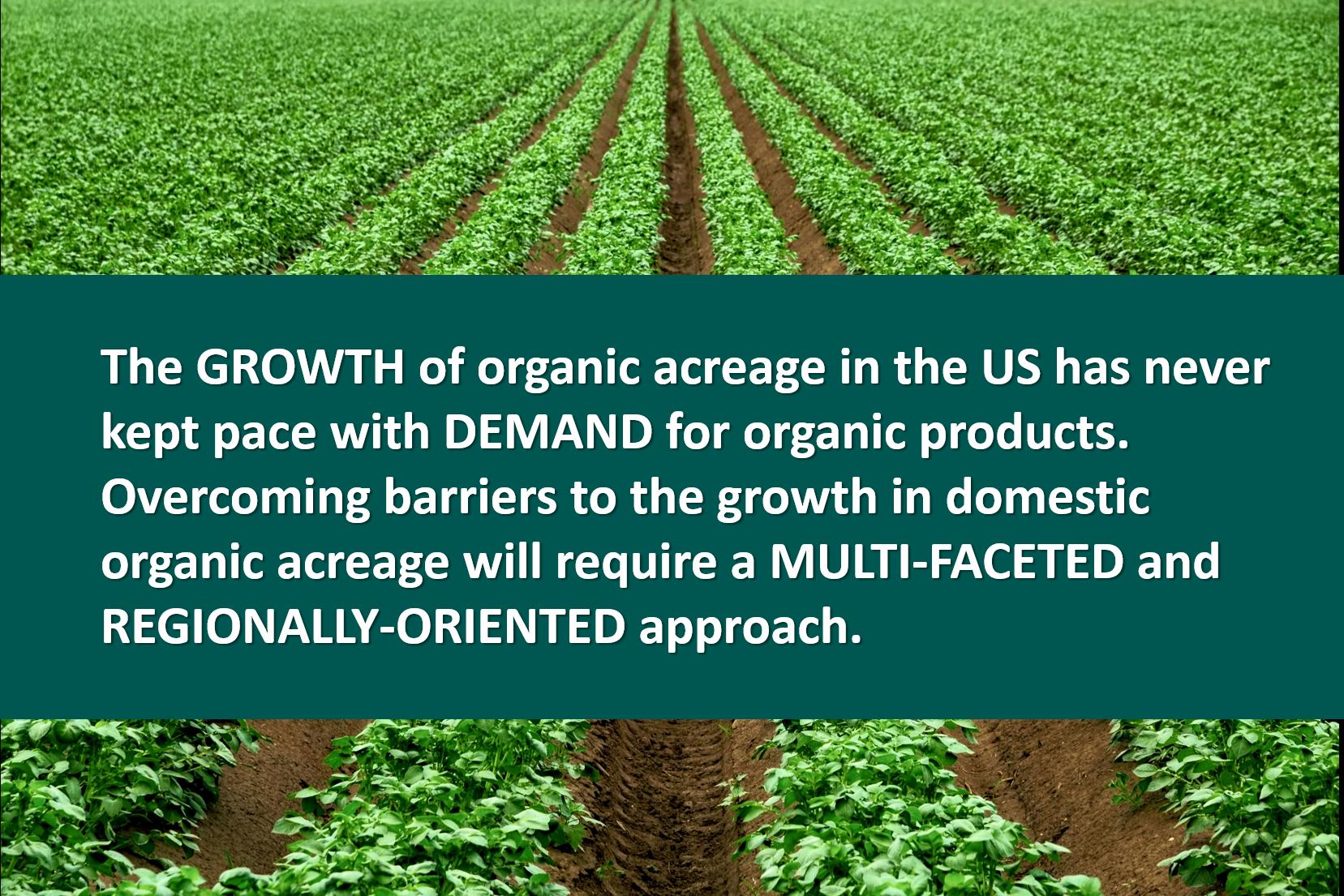 Organic Trade Association USDA Certified Transitional
